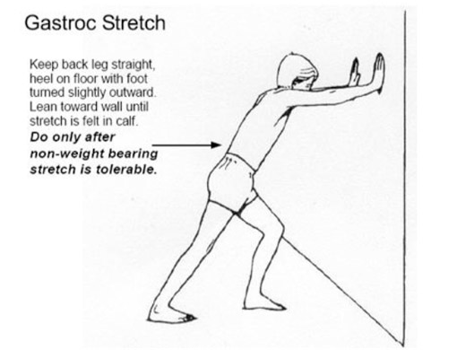 Calf Stretching Exercises